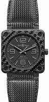 Bell & Ross Aviation BR0192-CA-FIBER-PH Mens Wristwatch