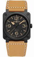 Bell & Ross BR03 Mens Wristwatch BR03-92-HERITAGE-CERAMIC