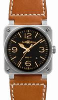 Bell & Ross BR03 Unisex Wristwatch BR03-92GOLDEN-HERITAGE