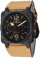Bell & Ross BR03 Mens Wristwatch BR03-94HERITAGE