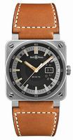 Bell & Ross Aviation BR0396 Golden Heritage Mens Wristwatch