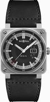 Bell & Ross Aviation BR0396-SI-ST Mens Wristwatch