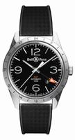 Bell & Ross BR123 Original Mens Wristwatch BR123-GMT-24H