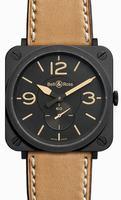 Bell & Ross Aviation BRS-HERITAGE/SCA Unisex Wristwatch