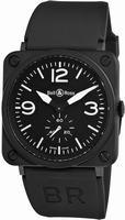 Bell & Ross BRS-MATTE Ceramic Unisex Wristwatch BRS-MATTE