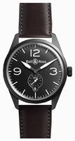 Bell & Ross Vintage Original BRV123-BL-CA/SCA Mens Wristwatch