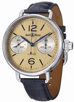 Bell & Ross Vintage Mens Wristwatch BRWW1-CHRNOIVOR