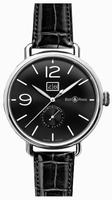 Bell & Ross Vintage WW1 BRWW190-BL-ST/SCR Mens Wristwatch
