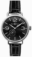 Bell & Ross Vintage WW1 BRWW197-BL-ST/SCR Mens Wristwatch