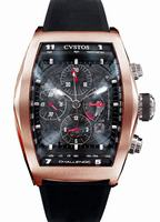 Cvstos Challenge Chronograph Mens Wristwatch CC.RBR