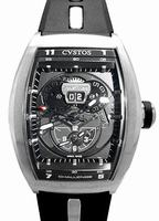 Cvstos Challenge Twin Time Mens Wristwatch CTT.SBR