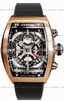 Cvstos Challenge Chronograph Mens Wristwatch CVCRTNRGSV