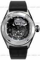 Cvstos Challenge-R Twin Time Mens Wristwatch CVTTRNSTGR