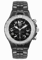 Technomarine TechnoDiamond Chrono Ceramique Unisex Wristwatch DTCB02C