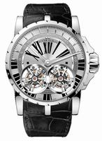 Roger Dubuis Excalibur Double Tourbillon Men Wristwatch EX45-01-80-00/0RR00/B