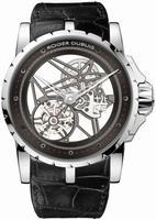 Roger Dubuis Excalibur Tourbillon Mens Wristwatch EX45-505SQ-20-00-0E000-B