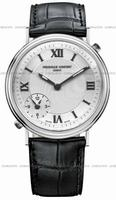 Frederique Constant Dual Time Mens Wristwatch FC-205HS36