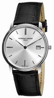 Frederique Constant Index Slim Line Date Mens Wristwatch FC-220NS4S6