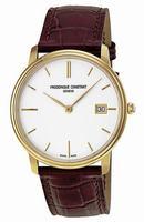 Frederique Constant Slim Line Mens Wristwatch FC-220NW4S5