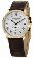 Frederique Constant Slim Line Mens Wristwatch FC-235M4S5