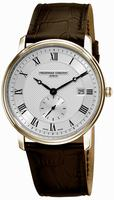 Frederique Constant Classics Quartz Small Second Mens Wristwatch FC-245M5S5