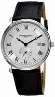 Frederique Constant Classics Quartz Small Second Mens Wristwatch FC-245M5S6