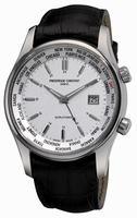Frederique Constant Index Worldtimer Quartz Mens Wristwatch FC-255S6B6
