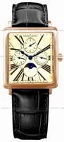 Frederique Constant Carree Moonphase Mens Wristwatch FC-265EM3C4