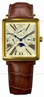 Frederique Constant Carree Moonphase Mens Wristwatch FC-265EM3C5