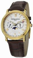 Frederique Constant Business Time Mens Wristwatch FC-270SW4P5