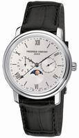 Frederique Constant Business Timer Mens Wristwatch FC-270SW4P6