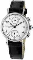 Frederique Constant Chronograph Quartz Mens Wristwatch FC-291A2R6