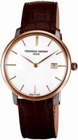 Frederique Constant Index Slim Line Mens Wristwatch FC-306V4STZ9