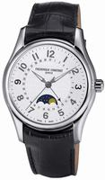 Frederique Constant Runabout Moonphase Automatic Mens Wristwatch FC-330RM6B6
