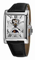 Frederique Constant Carree Automatic Moonphase and Date Mens Wristwatch FC-335MS4MC6