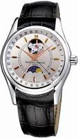 Frederique Constant Moontimer Mens Wristwatch FC-335V6B6