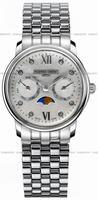Frederique Constant Persuasion Moonphase Ladies Wristwatch FC-360MPWD2P6B2