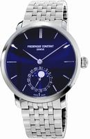 Frederique Constant Slim Line Moonphase Mens Wristwatch FC-705N4S6B
