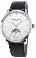 Frederique Constant Slim Line Moonphase Mens Wristwatch FC-705S4S6