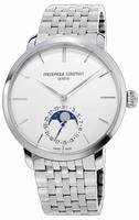Frederique Constant Slim Line Moonphase Mens Wristwatch FC-705S4S6B
