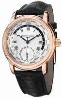 Frederique Constant Worldtimer  Mens Wristwatch FC-718MC4H4