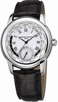 Frederique Constant Worldtimer Mens Wristwatch FC-718MC4H6