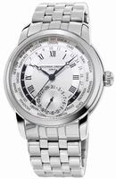 Frederique Constant Worldtimer Mens Wristwatch FC-718MC4H6B