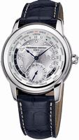 Frederique Constant Worldtimer Mens Wristwatch FC-718WM4H6