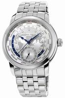 Frederique Constant Worldtimer Mens Wristwatch FC-718WM4H6B