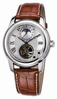 Frederique Constant Heart Beat Manufacture Moonphase Mens Wristwatch FC-935MC4H6