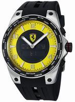 Ferrari World-Time Mens Wristwatch FE05ACCYW