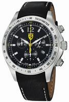 Ferrari Scuderia Ferrari Chrono Mens Wristwatch FE07ACCCPBK