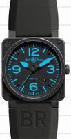 Bell & Ross BR 03-92 Blue Mens Wristwatch BR0392-BLUE