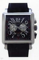 Franck Muller King Conquistador Cortez Chronograph Midsize Mens Wristwatch 10000 K CC-1
